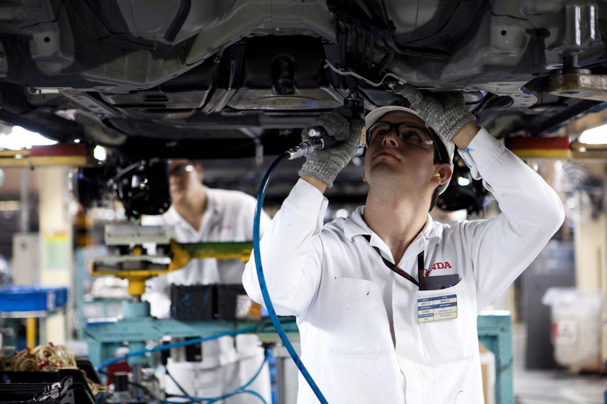 Fábrica da Honda em Sumaré
