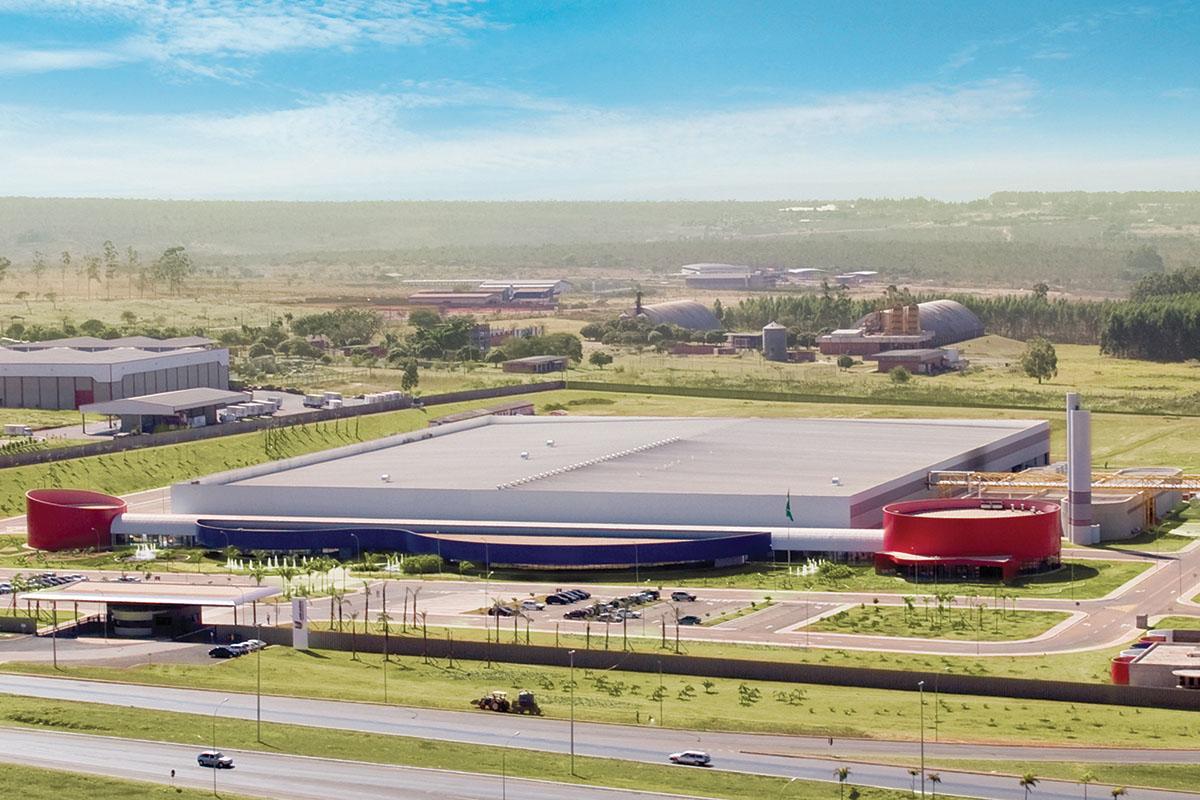Fábrica da União Química em Brasília