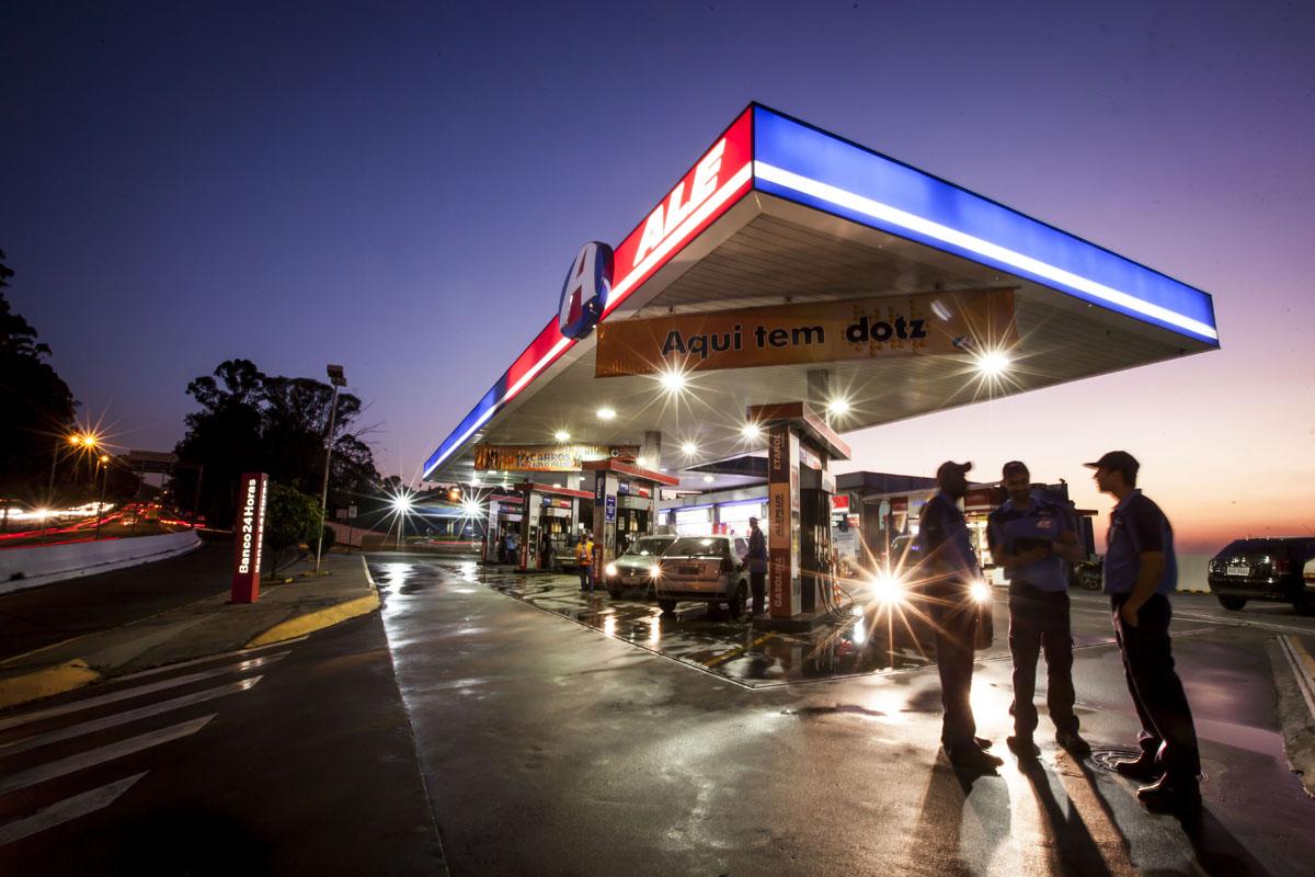 Posto de combustíveis Ale, em Belo Horizonte