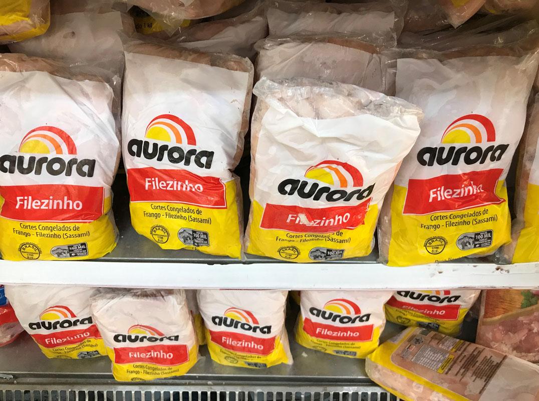Produtos da Aurora Alimentos