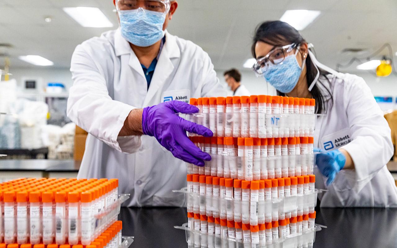 Teste de coronavírus, Abbott