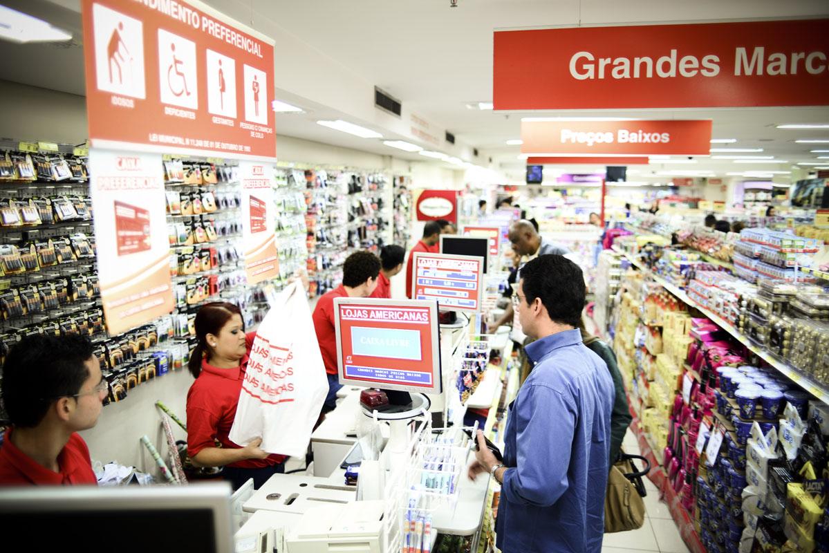 Lojas Americanas do Shopping Iguatemi, em São Paulo