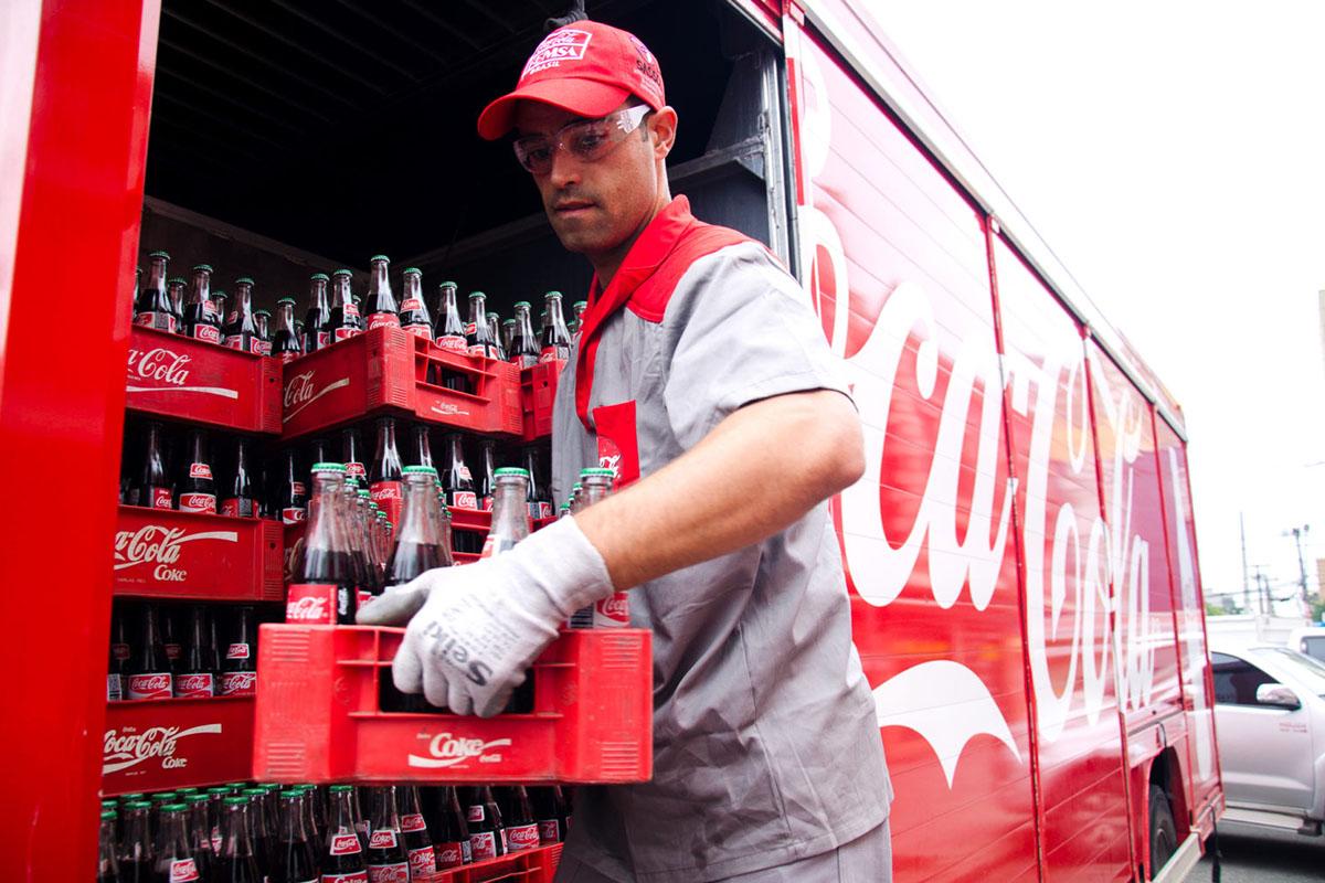 Distribuição de Coca-Cola pela Spal