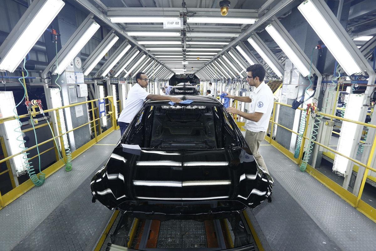 Fábrica da General Motors em Gravataí, no Rio Grande do Sul