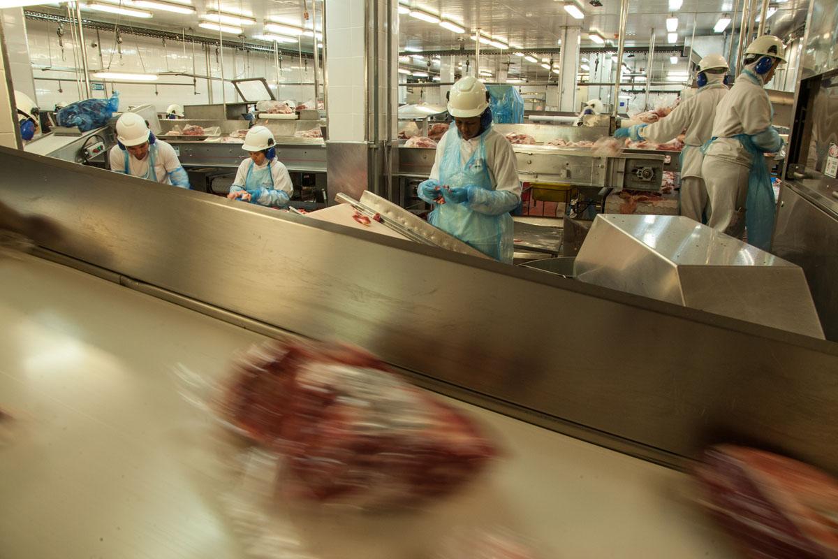 Unidade da Minerva Foods em Barretos