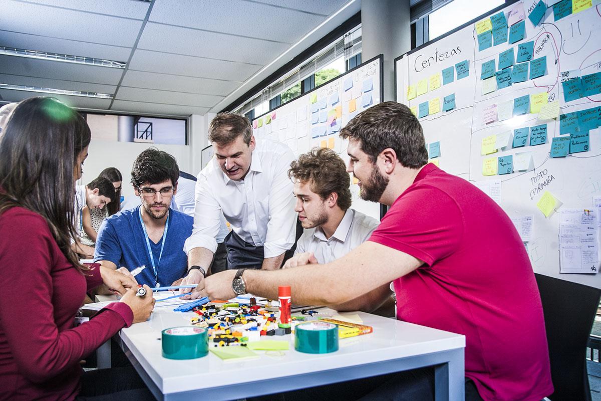 Equipe da Totvs - area de inovacao