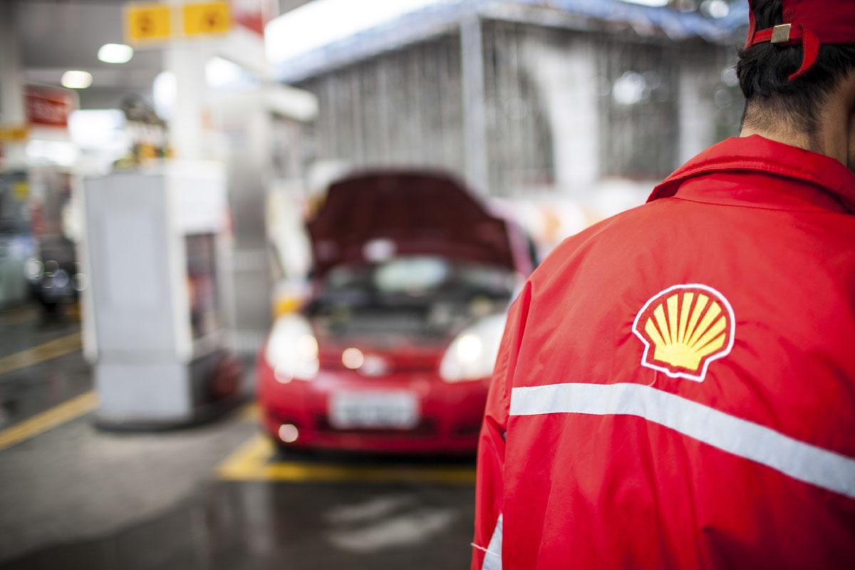 Posto Shell em São Paulo