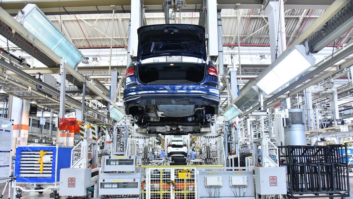 Fábrica da Volkswagen em São Bernardo do Campo (Anchieta)
