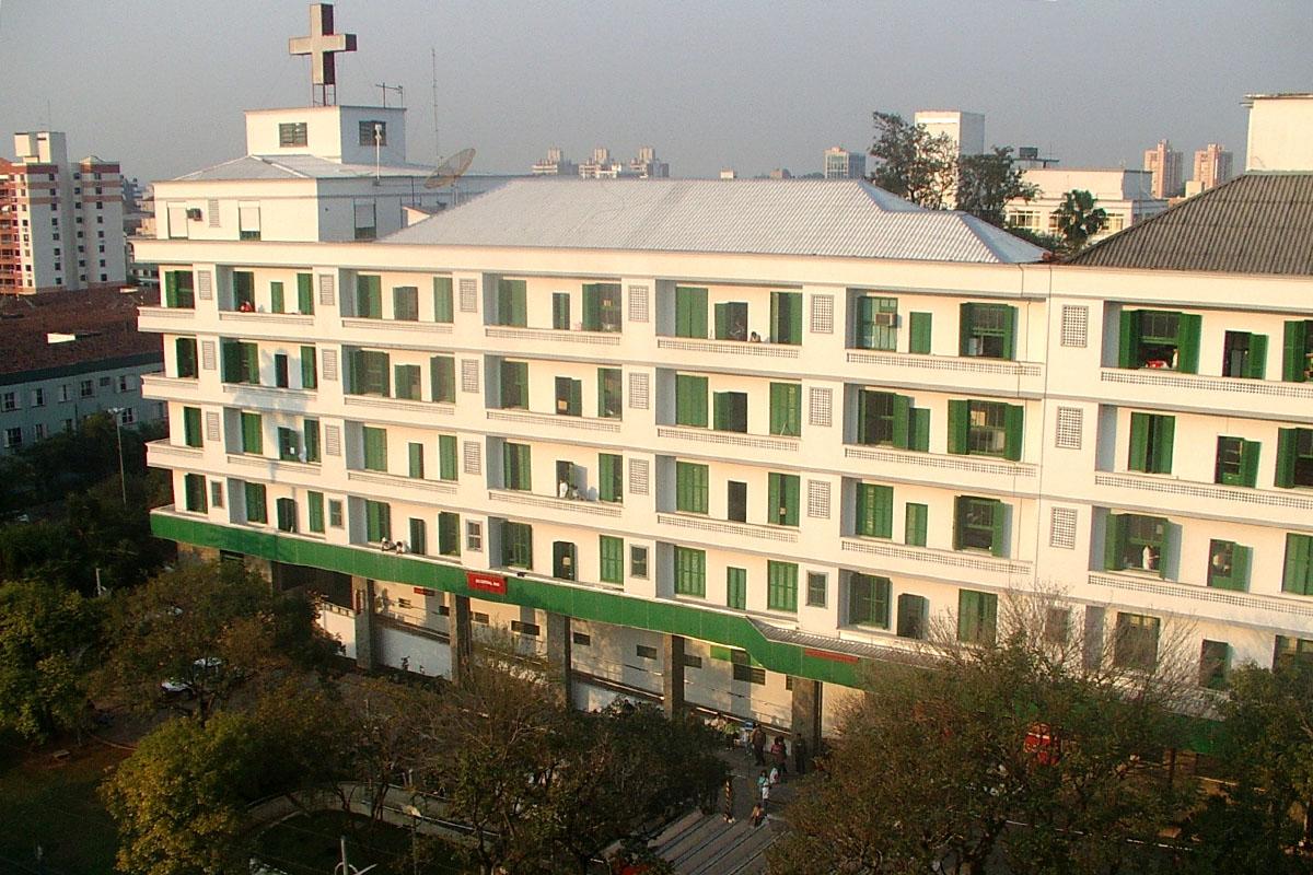 fachada do Hospital Nossa Senhora da Conceição
