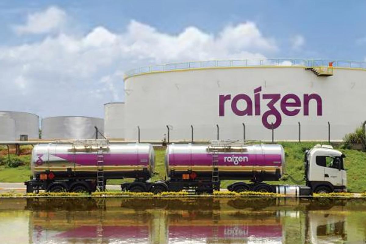 Tanques de combustíveis da Raízen