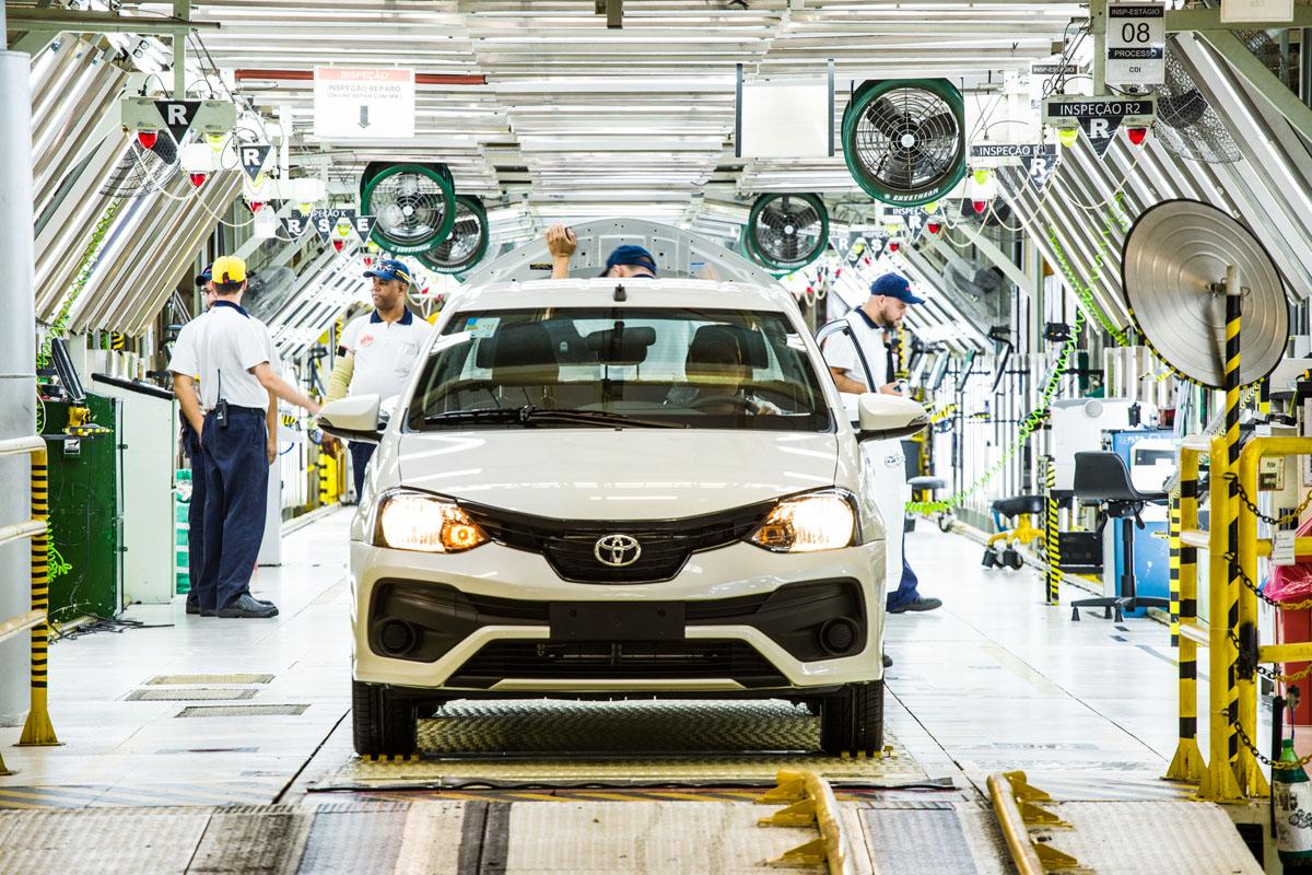 Fábrica da Toyota em Sorocaba