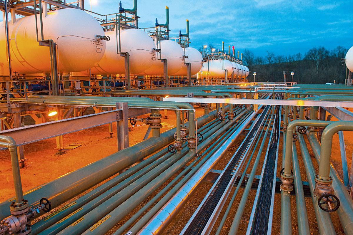 Rede de gás da CEG Rio