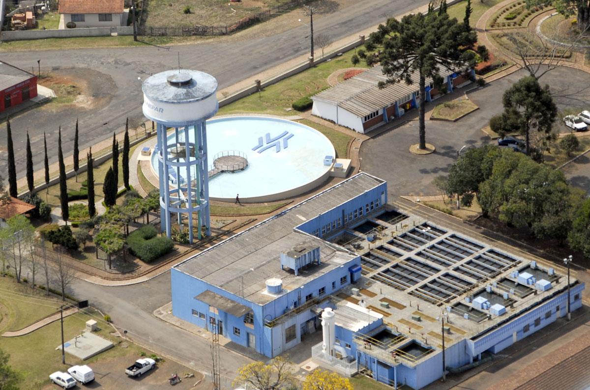 Estação de Tratamento de Água Guarapuava