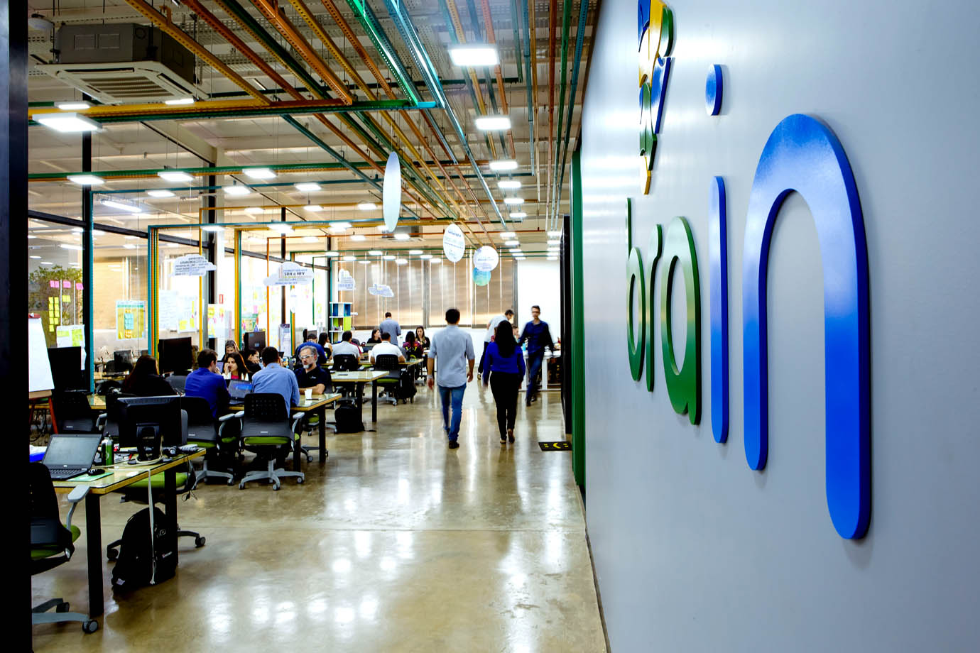 Algar Brain - Centro de Inovação da Algar Telecom Divulgação