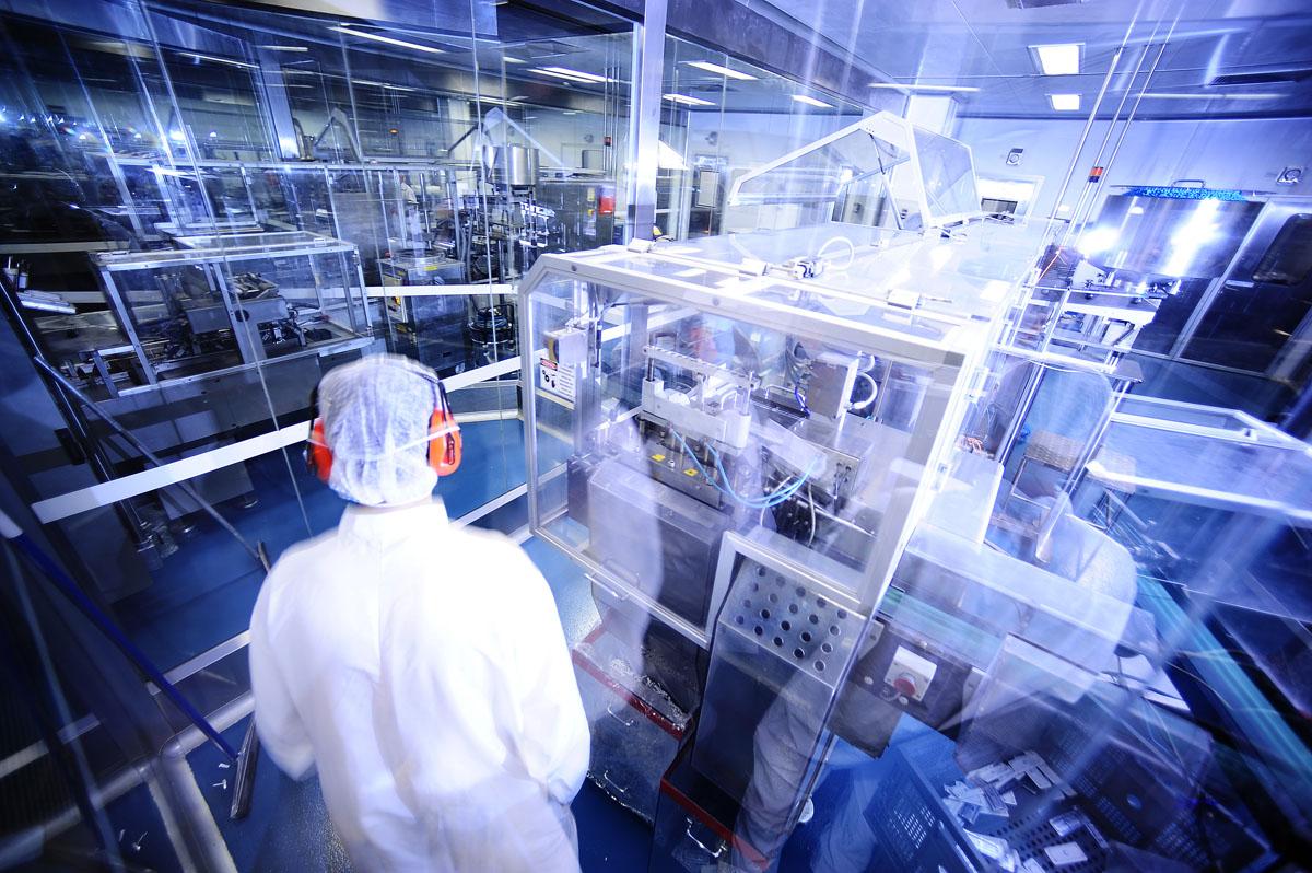 Fábrica de genéricos da EMS em Hortolândia (SP)