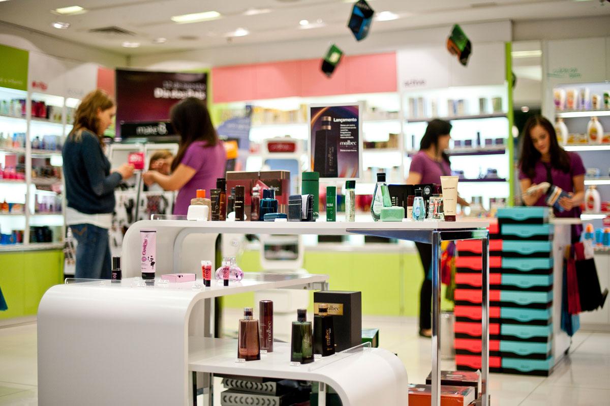 Loja do Boticário no Shopping Eldorado, em São Paulo