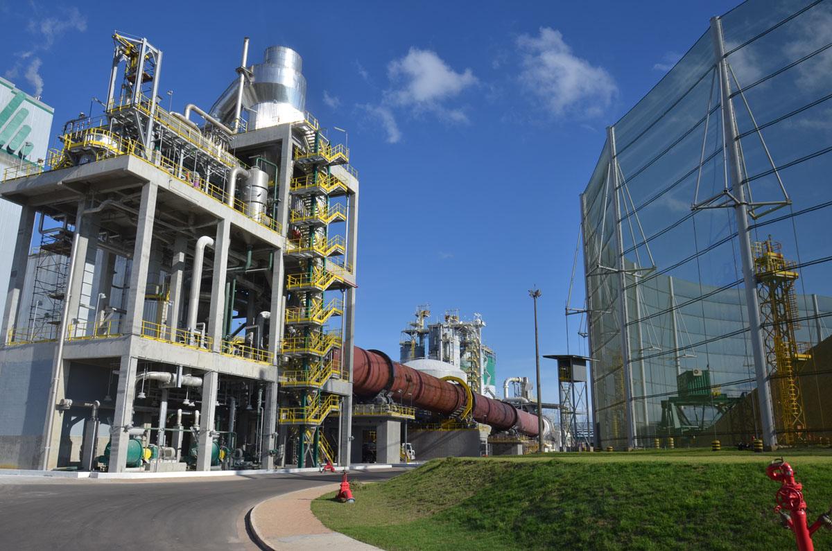 Fábrica de celulose e papel da CMPC