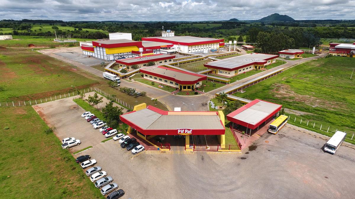 Complexo agroindustrial de Goiás da Pif Paf