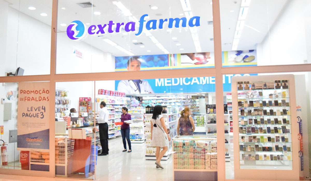 Loja da rede Extrafarma