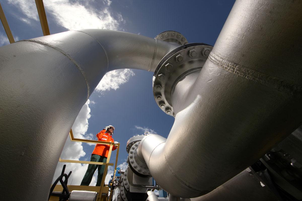 Estação de distribuição de gás da TAG