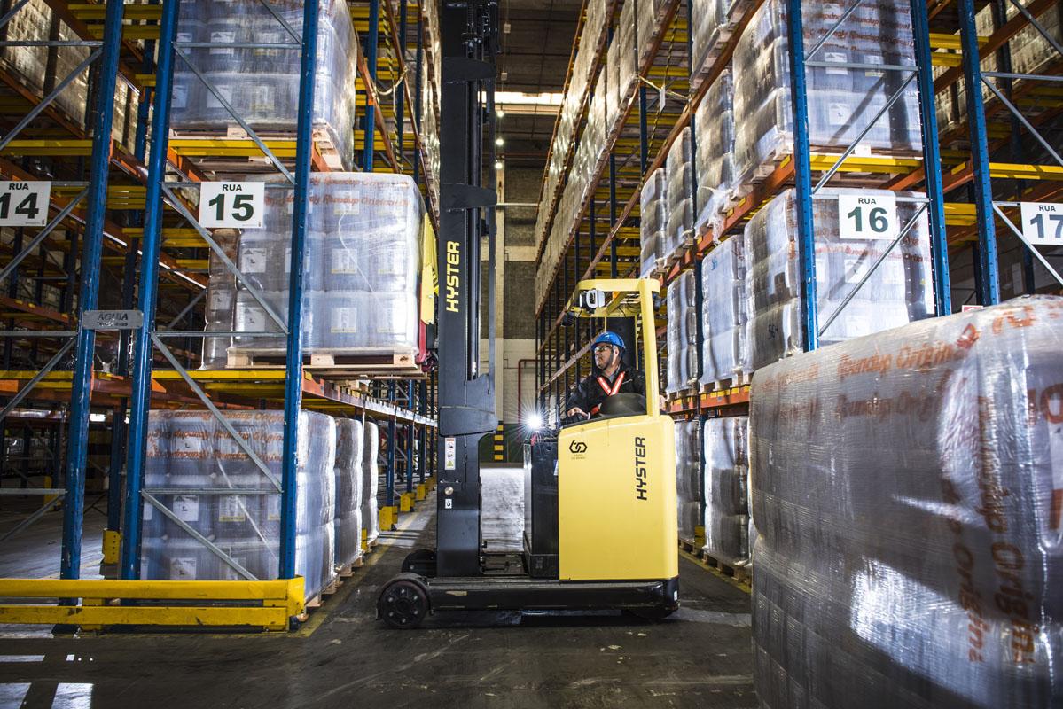 Centro de distribuição da Monsanto