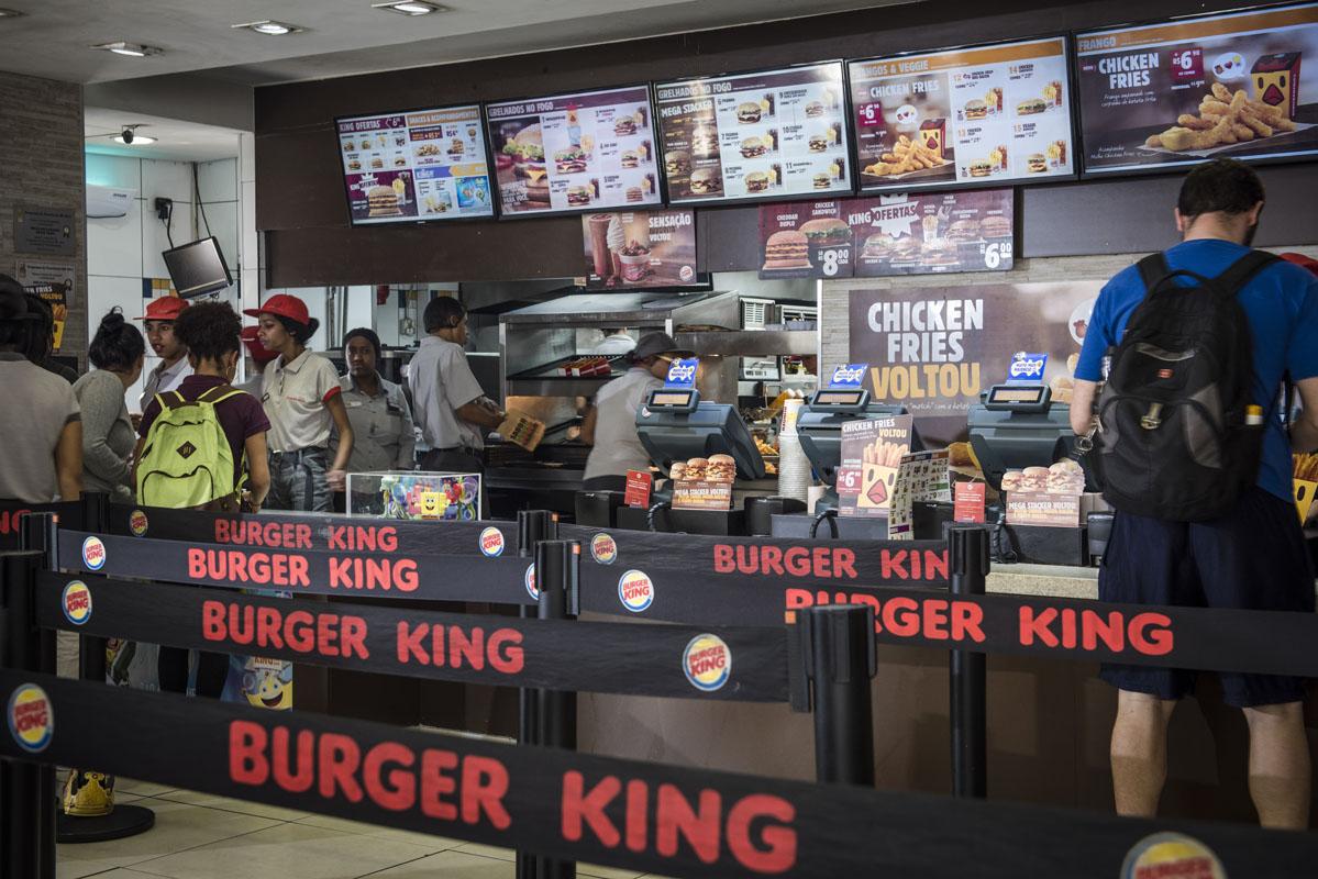 Lanchonete do Burger KIng