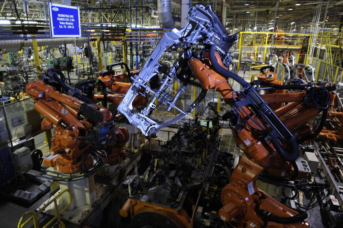Fábrica da Ford em Camaçari