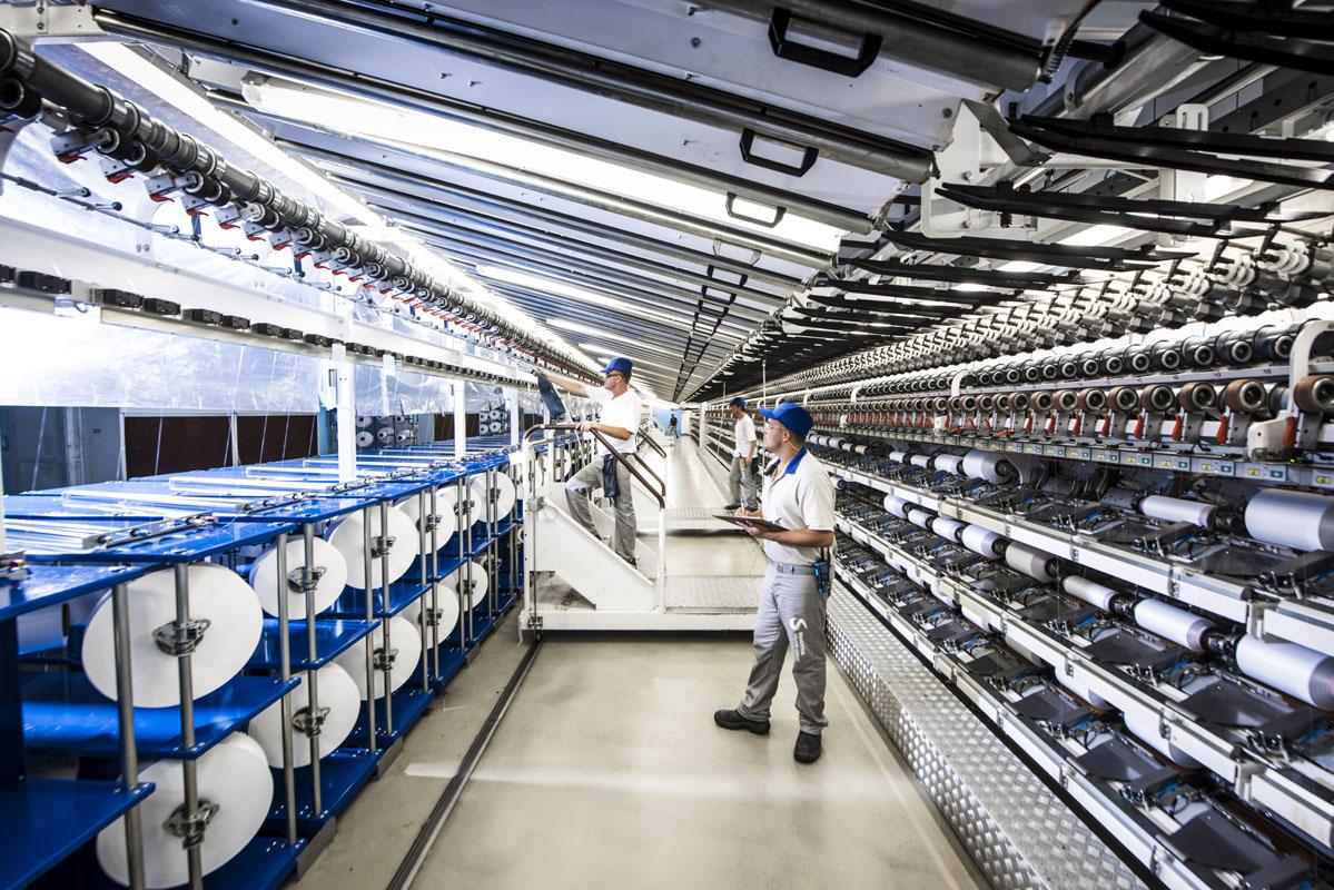 unidade da Rhodia onde a fibra biodegradável é feita fica em Santo André