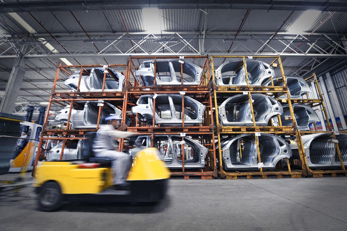 Fabrica da Peugeot Citroen em Resende (RJ)