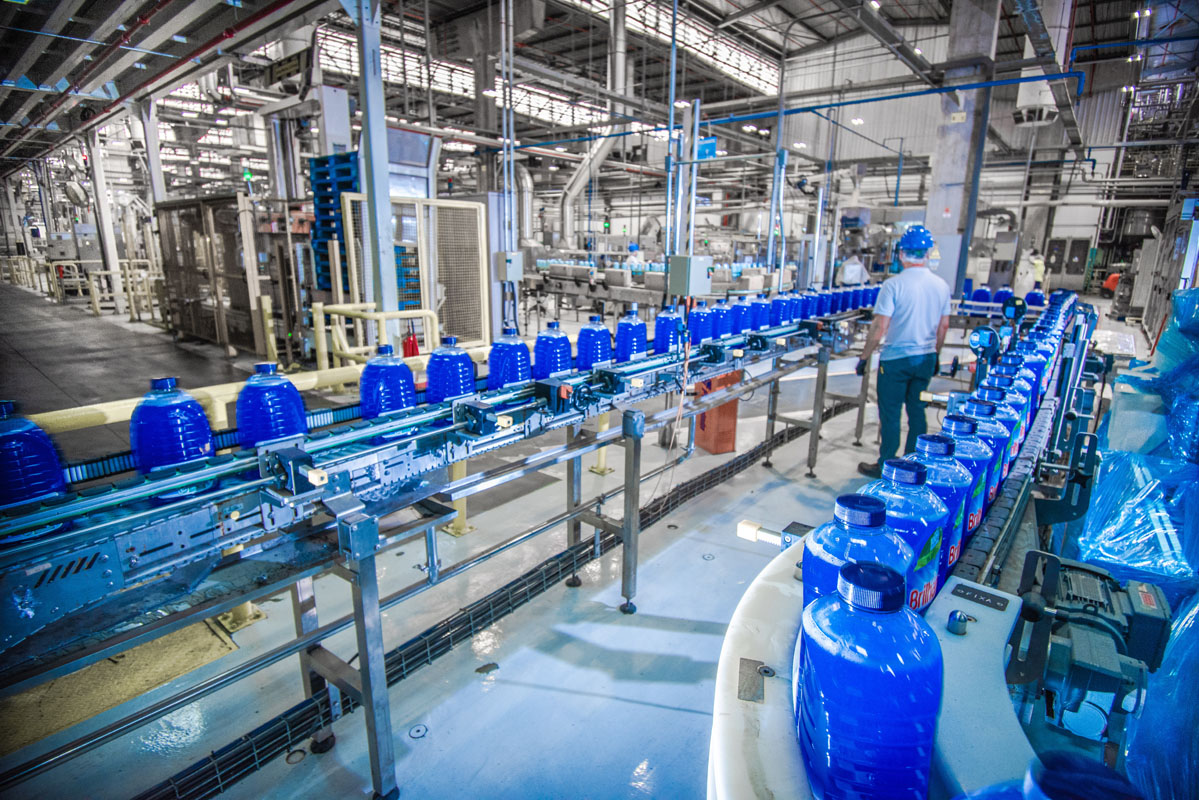 Fábrica da Unilever em VInhedo