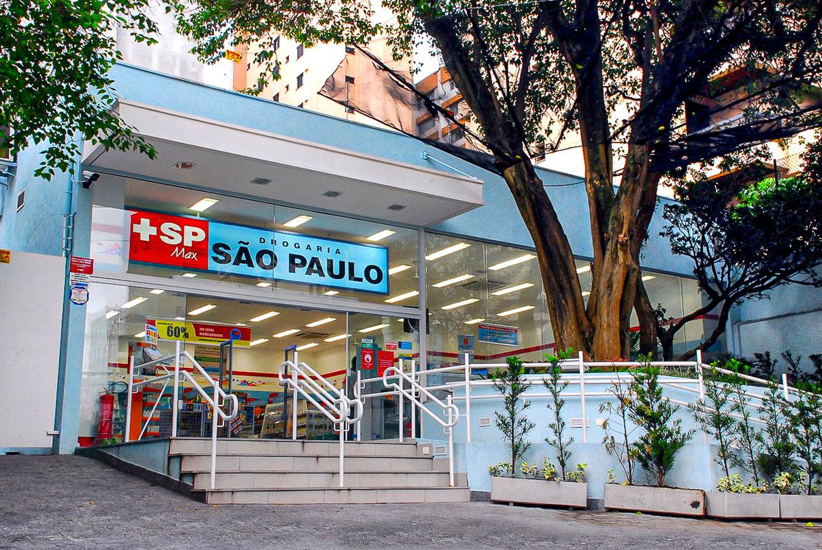 Loja da Drogaria São Paulo na capital paulista