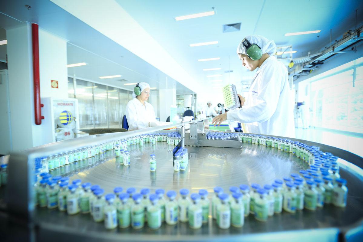 Fábrica da Eurofarma em Itapevi (SP)