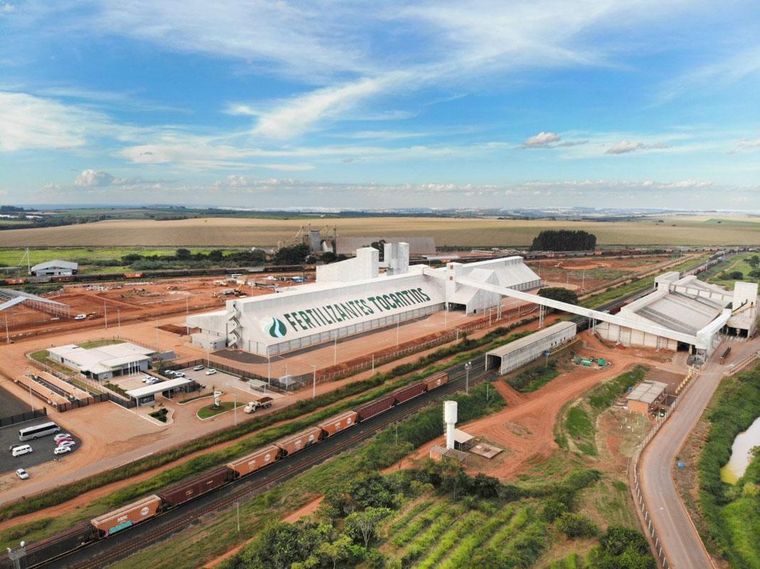 Fábrica da Fertilizantes Tocantins (EuroChem)