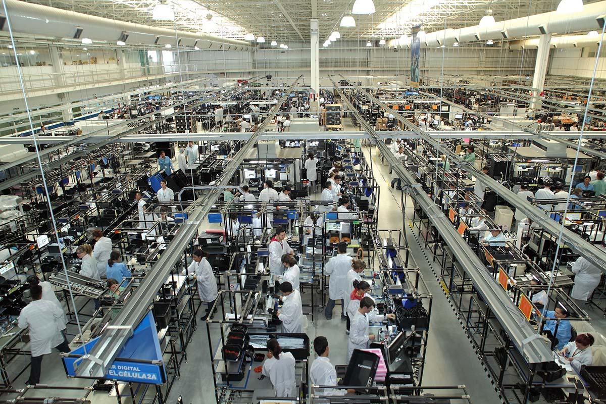 Fábrica da HP