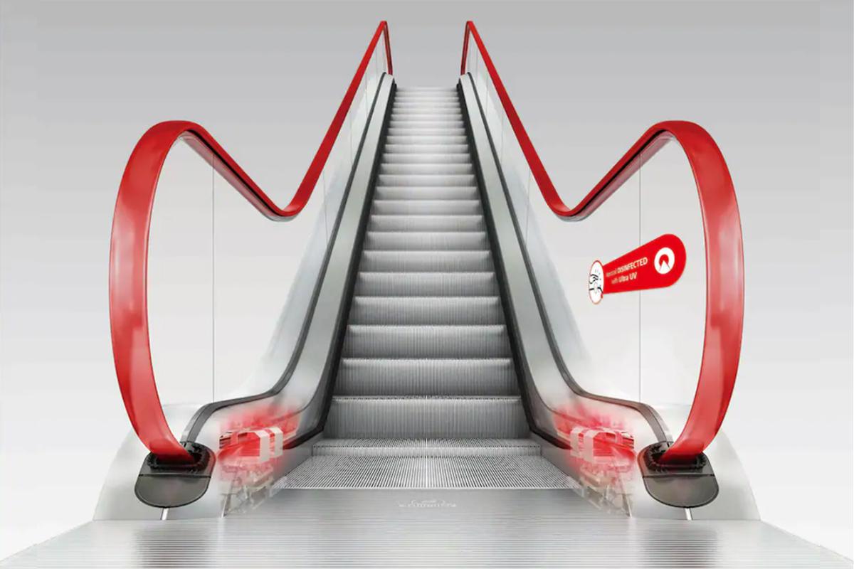 Escada rolante da Atlas Schindler