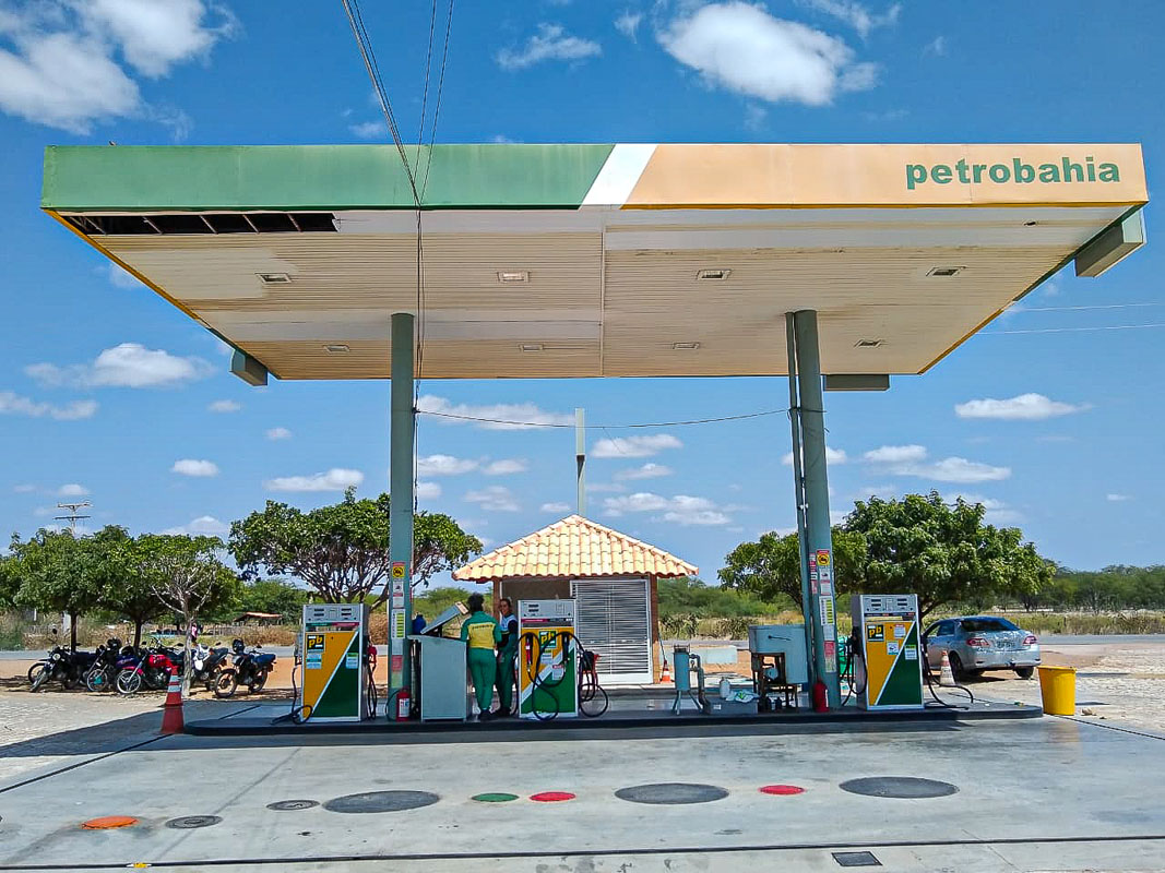 Posto da rede Petrobahia