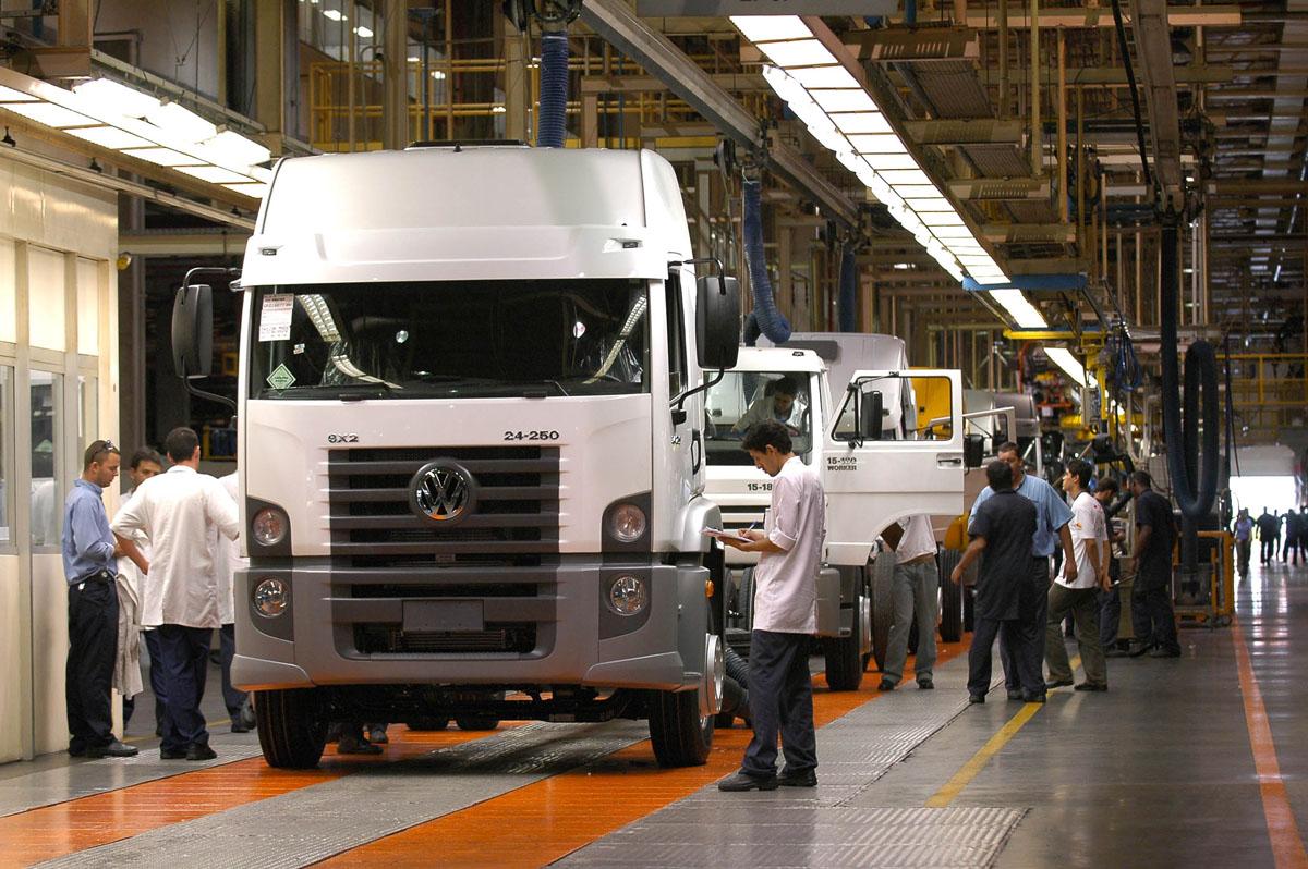 Fábrica da Volkswagen Caminhões e Ônibus