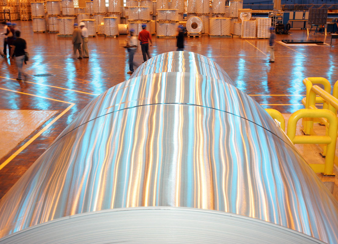 Fábrica da Companhia Brasileira de Alumínio (CBA)