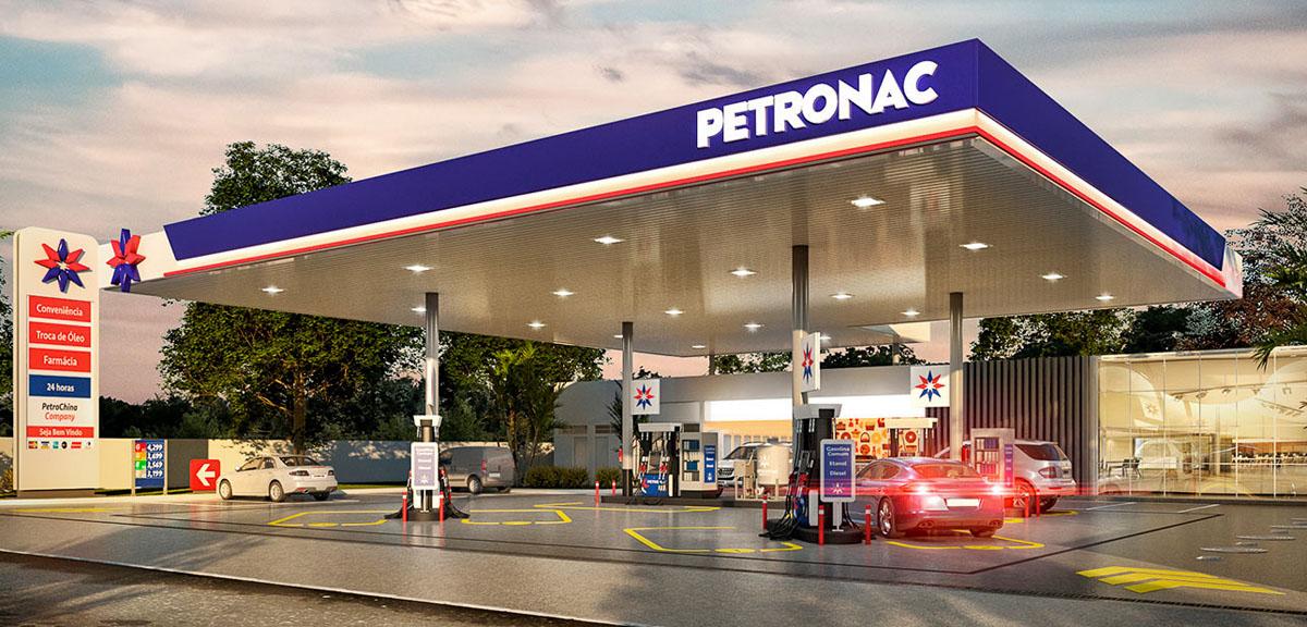 Posto de combustíveis da rede Petronac
