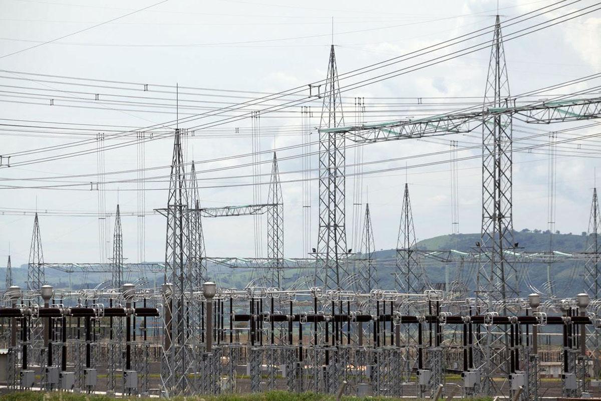 Linha de transmissão da energia da usina de Belo Monte