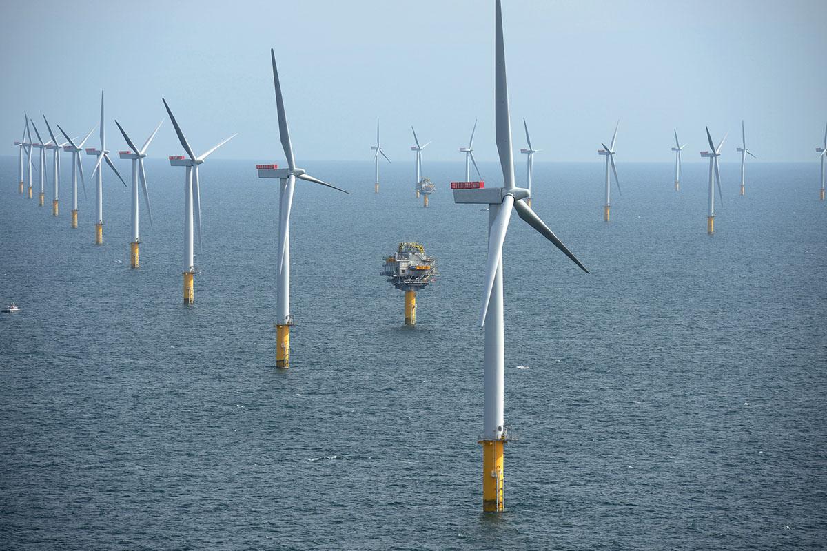 Parque eólico da Equinor Energy